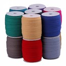 109 Yards Bias Tape Sewing Elastic Flat Rope 5/8 Inch for Clothes Cuffs Underwear DIY handicrafts