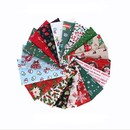 5 Pcs / 10 Pcs Christmas Cotton Fabric Sewing DIY Cloth Gift Handicrafts Home Decoration Quilting Patchwork