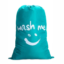 Muka Personaliezd Laundry Bag Embroidered Travel Washing Beam Storage Bag Smiley for Dirty Clothing College - 28