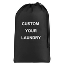Muka Personalized Laundry Bag Embroidered Travel Washing Beam Storage Bag Waterproof Oxford cloth for Dirty Clothing College