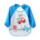 Topie Infant Toddler Baby Bib With Sleeves Water Resistant Drooler Bib, 6 Months To 2 Years, 1Pc