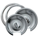 Range Kleen 1056R68GE4X Drip Pan & Trim Ring Chrome 1 Sm/6
