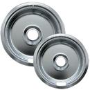 Range Kleen 10910A2X Style F 2-Pack Heavy Duty Chrome Drip Bowls