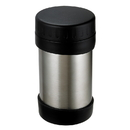 Range Kleen 12FBSS 12 Ounce Stainless Steel Wide Mouth Food Bottle