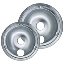 Range Kleen 179802XCD5 Style C 2-Pack Heavy Duty Chrome Drip Bowls
