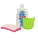 Range Kleen 50004 3-Piece Glass and Ceramic Range Cleaning Kit