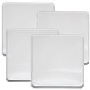 Range Kleen 563 4-Pack White Square Burner Cover Set