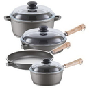 Berndes 671207W Tradition Induction 7 Piece Cookware Set