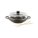 Berndes 674983 Tradition Induction 13.5 Inch Wok with Glass Lid