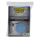 Range Kleen 717R CeramaBryte 2 Pack Stainless Steel Microfiber Polishing Cloths