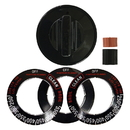Range Kleen 8211 Universal 1 Pack Black Replacement Knob Kit Gas Stove/Range