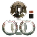 Range Kleen 8221 Universal 1-Pack Chrome Replacement Knob Kit Gas Stove/Range