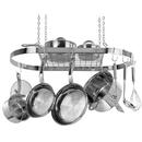 Range Kleen CW6001 Stainless Steel Oval Hanging Pot Rack