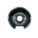 Range Kleen P105 Style D Small Heavy Duty Black Porcelain Drip Pan