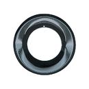 Range Kleen P200 Style H 6.875-Inch Round Heavy Duty Black Porcelain Drip Pan