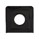 Range Kleen P401 Style J 9.125 x 9.3125-Inch Square Heavy Duty Black Porcelain Drip Pan