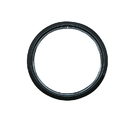 Range Kleen PR6GE Style D Small Heavy Duty Black Porcelain Trim Ring