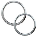 Range Kleen R68GE Style D 2-Pack Heavy Duty Chrome Trim Rings