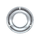 Range Kleen RGP300 Style G 8.25 Inch Round Heavy Duty Chrome Drip Pan