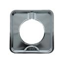 Range Kleen SGP-400 Style I 7.75 Inch Square Heavy Duty Chrome Drip Pan