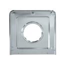 Range Kleen SGP401 Style J 9.125 x 9.3125 Inch Square Heavy Duty Chrome Drip Pan