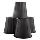 Range Kleen WWK0562 4 Pack Black Underbed Spacers