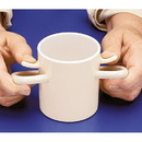 Ableware 745720000 Arthro Thumbs-Up Cup Without Lid by Maddak
