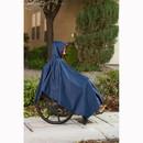 CareActive 9660-0-BLK Wheelchair Rain Poncho-Black