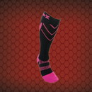 CSX X200 Athletic Compression Sock-15-20 mmHg-Pink/Black-XS