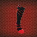 CSX X200 Athletic Compression Sock-15-20 mmHg-Red/Black-XL