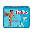 Cuties CR3001 Size 3 Baby Diapers 144/Case