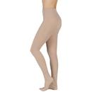 Juzo 2081 20-30 mmHg Soft Elastic Pantyhose w/ OT-Cinnamon