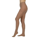 Juzo 2100 15-20 mmHg Sheer Pantyhose w/ Open Toe-Black