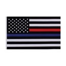 Rothco Thin Blue and Thin Red Line Flag