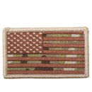 Rothco American Flag Patch - Hook Back