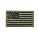 Rothco OCP American Flag Patch With Hook Back