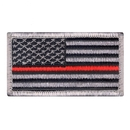 Rothco Thin Red Line US Flag Patch