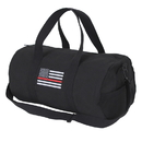 Rothco 2260 Thin Red Line Canvas Shoulder Duffle Bag - 19 Inch