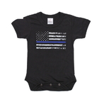 Rothco 2273 Infant Thin Blue Line One-Piece Bodysuit