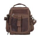 Rothco 2836 Canvas & Leather Travel Shoulder Bag