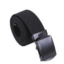 Rothco Nylon Web Belt - Black Webbing