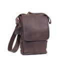 Rothco Brown Leather Military Tech Bag