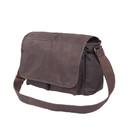 Rothco Brown Leather Classic Messenger Bag