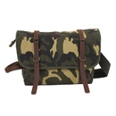 Rothco Vintage Canvas Explorer Shoulder Bag w/ Leather Accents