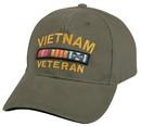 Rothco Vietnam Veteran Deluxe Vintage Low Profile Insignia Cap