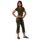 Rothco S1040 Womens Camo Capri Pants