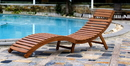 Northbeam CLN0170110000 Curved Folding Chaise Lounger