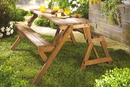 Northbeam MPG-ACT04 Interchangeable Picnic Table / Garden Bench