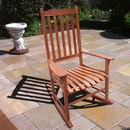 Northbeam MPG-PT-41110 Traditional Rocking Chair, Natural Stain
