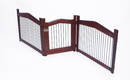 Zoovilla PH0111751800 2-in-1 Crate and Gate, Large